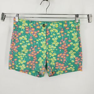 Bode Multi Floral Bistro Shorts Cotton Stretch